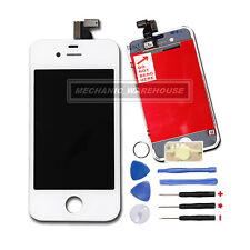 For iPhone 4 White LCD Digitizer Touch Screen Glass Display Complete Replacement