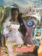 Barbie Rapunzel's Wedding black African American Bride doll NEW 2005