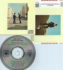 PINK FLOYD-WISH YOU WERE HERE-1975-USA-COLUMBIA REC. CK 33453 CMU P 119-CD-MINT-