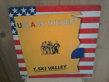 "T.SKI VALLEY the U.S.A. is the best 12"" MAXI 45T"