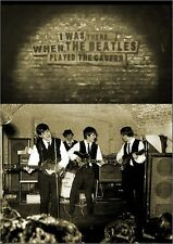 I WAS THERE WHEN THE BEATLES PLAYED THE CAVERN DOCUMENTARY DVD lennon mccartney