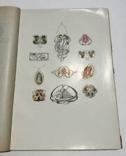 Modern Design In Jewelry & Fans 1901-1902 Art Nouveau Antique Vintage Book
