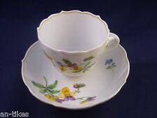 Kaffeetasse mit Unterteller, Porzellanmanufaktur Meissen #1293