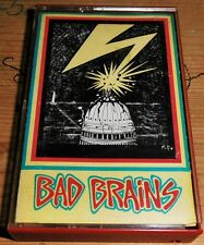 BAD BRAINS - Original ROIR Cassette Debut Album - 1982 - Excellent Condition!
