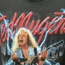 "Ted Nugent ""Motor City Mad Man"" Tour 1999 Black, S/S, XXL T-Shirt, LOOKS GREAT!!"