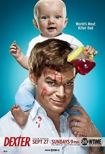 Dexter poster print  : 11.5 x 17 inches - Michael C. Hall poster Killer Dad