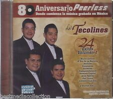 Los Tecolines CD NEW 24 Exitos Vol 1 - 80 Aniversario PEERLESS Brand New SEALED