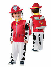 Costume Paw Patrol Pat Patrouille Marcus Marshall Nickelodeon Taille 3-4 ans