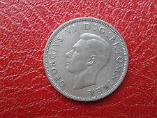 GEORGIVS VI D:G:BR:OMN:REX - FID:DEF:IND:IMP - Half Crown 1944 Silver 0.500