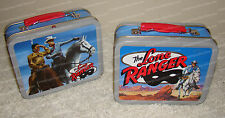 The LONE RANGER, 2001 Mini Lunch Boxes, Cheerios Advertising Promotion