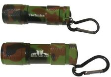 DMC Technics DJ Flashlight (Camouflage) With Handy Caribineer Clip