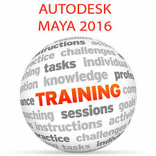 Autodesk Maya 2016-formazione VIDEO TUTORIAL DVD