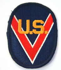 US MILITARY VOLUNTARY RESERVE Embroidered Sew Iron On Cloth Patch Badge APPLIQUE