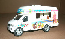 1/43 Scale Ice Cream Truck Diecast Model  Food Vending Van - Pull Friction Toy