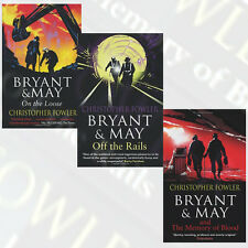 Christopher Fowler Collection Bryant and May 3 Books Set, The memory of Blood UK