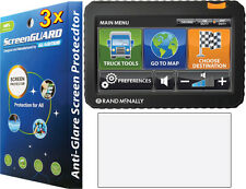 3x Anti-Glare Matte LCD Screen Protector Rand McNally TND 700 710 720 73 730 LM