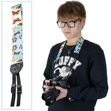 NEEWER Butterfly Yellow&Blue Colorful Camera Neck Nikon Canon Strap Belt EM#01
