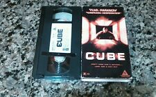 CUBE RARE VHS TAPE! TRIMARK 1996 LETHAL HORROR! NICHOLE DEBOER, NICKY GUADAGNI