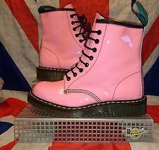 BN*England Made*Bubblegum Pink Solovair Boots*Doc Martens*Skingirl Kawaii Goth*6