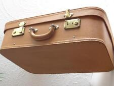 Ancienne malle MOYNAT en cuir valise 1950 Old trunk suitcase leather