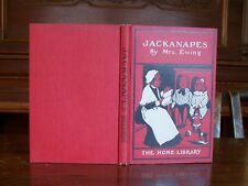 'JACKANAPES' POPULAR OLD CHILD BOOK in RARE DUST JACKET