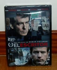 EL ESCRITOR-THE GHOST WRITER-DVD-NUEVO-PRECINTADO-NEW SEALED-DRAMA-THRILLER
