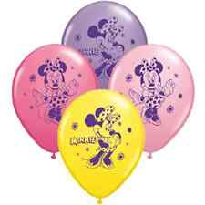 Minnie Mickey Mouse latex balloons Donald Goofy party
