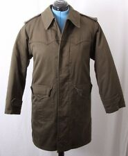 M-65 1982 Army Military Green Western Trench Jacket Coat W/ Liner Women's L