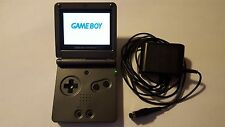 Game Boy Advance SP Graphite Black AGS 101 Tested Handheld System GameBoy GBA