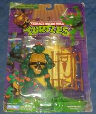 1988 MIKE MICHAELANGELO MINT ON 1998 CARD MOC TEENAGE MUTANT NINJA TURTLES TMNT