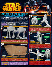 Star Wars Vehicle AT-AT Sand Crawler B-Wing Slave Shuttle 1/144 F-Toys 7#5pc +SP
