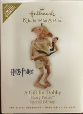 NDB 2010 HALLMARK ORNAMENT A GIFT FOR DOBBY HARRY POTTER SPECIAL EDITION LIMITED