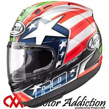 New Arai RX-7X HAYDEN Motorcycle Full Face Helmet XS, S, M, L, XL