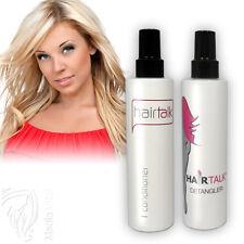 2x Hair Talk Conditioner + Detangler für Haarverlängerung