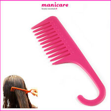 Manicare Shower Comb Wet Hair Detangling Wide Teeth Shower Tangle-Free 22CM Comb