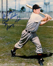 GEORGE KELL-Detroit Tigers-Autographed 8 x 10 Picture-Hall Of Fame
