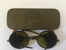 Sunglasses German FLYING WW2 VINTAGE SUN GOGGLES PILOT AVIATOR (With Tin)
