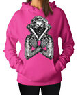 Marilyn Monroe Gangster Guns Tatoo Rocksmith Women's Hoodie Hooded Sweater
