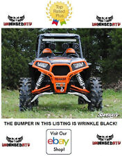 BLACK SuperATV Polaris RZR S 1000 S 900 XP 900 XP 1000 Front Bumper Brush Guard