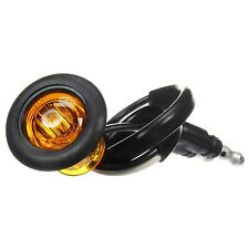 Truck Lite (33075Y) 33 SERIES, LED, YELLOW ROUND, 1 DIODE, MARKER