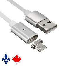 Magnetic Adapter Charger USB Charging Cable Micro USB for Android Samsung,LG,