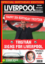 Personalised Liverpool Fan Birthday Card GREAT! ADD YOUR OWN PIC, REALLY UNIQUE!