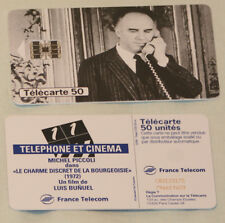 Telefonkarte France Telecom - 50 Einheiten - Motiv Michel Piccoli
