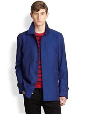 New With Tags Burberry London Milforth Blue Trench Coat Size 52UK/42US $1995.00