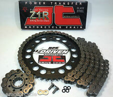 '02/03 CBR954rr JT Z1R 520 X-RING CHAIN AND SPROCKETS KIT * Quick Acceleration