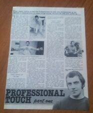 Lewis Collins The Professionals Bodie Article Interview Late 70s after Series 1