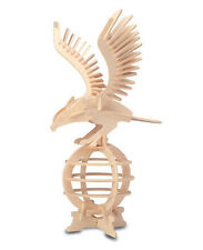 Eagle 3D Puzzle / Construction Kit made from eco friendly FSC wood E008
