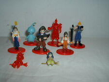 Lot 8 Final Fantasy Coca-Cola Promo Mini Figures Color & Crystal