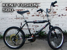 Collectable 1987 Kent Fusion 500 BMX Bike, 5 speed Jocky Shift, Black