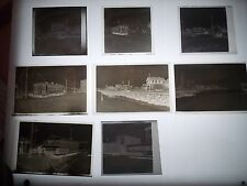 8 1948 Atlantic City AC NJ New Jersey Trolley Photo Negatives